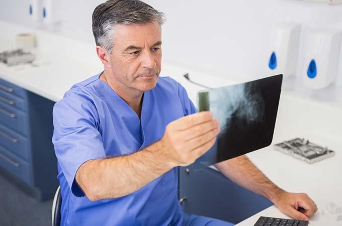 Bone Grafting X-Ray
